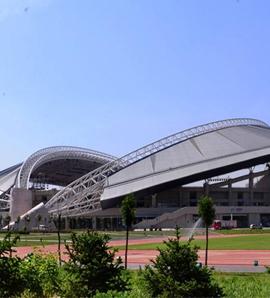 奥林匹克中心体育场变形监测