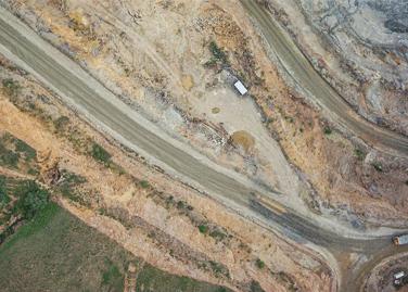 无人机助力露天矿测绘勘察