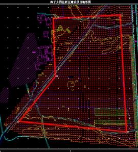 海子乡园区地形图测绘