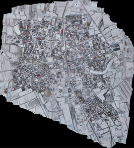 航拍地形图