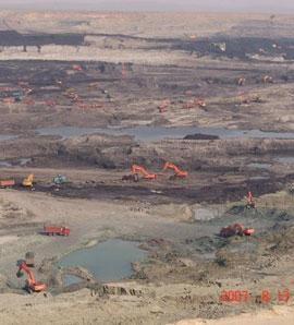 石圪图煤矿测量